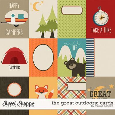 The Great Outdoors Cards by Melissa Bennett
