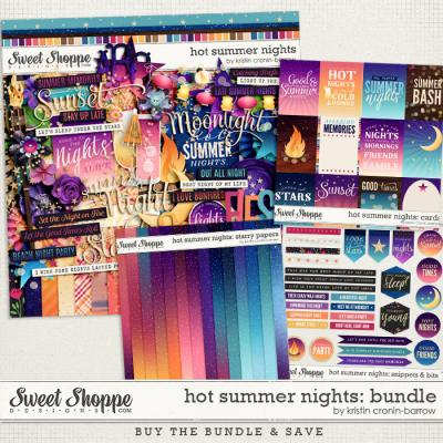 Hot Summer Nights: Bundle by Kristin Cronin-Barrow