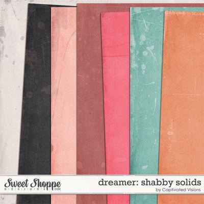Dreamer: Shabby Solids by Captivated Visions