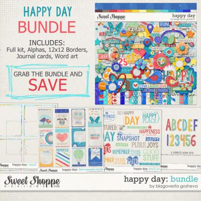 Happy Day BUNDLE by Blagovesta Gosheva