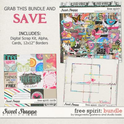 Free Spirit: Bundle by Blagovesta Gosheva and Studio Basic