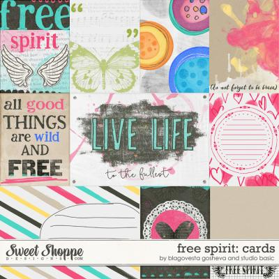 Free Spirit: Cards by Blagovesta Gosheva and Studio Basic