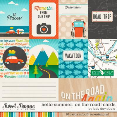Hello Summer: On The Road! Project Cards by Jady Day Studio