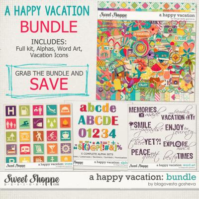 A Happy Vacation: BUNDLE by Blagovesta Gosheva