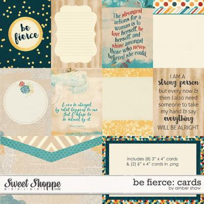 Be Fierce: Cards by Amber Shaw