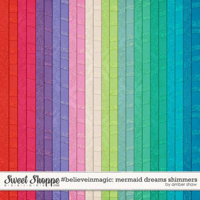 #believeinmagic: Mermaid Dreams Shimmers by Amber Shaw