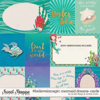 #believeinmagic: Mermaid Dreams Cards by Amber Shaw & Studio Flergs