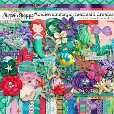 #believeinmagic: Mermaid Dreams by Amber Shaw & Studio Flergs