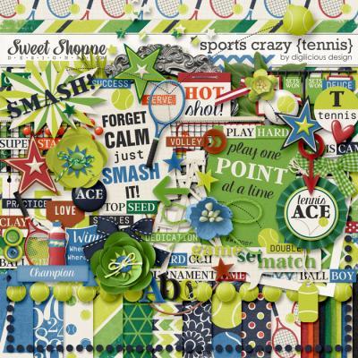 Sports Crazy {Tennis} by Digilicious Design