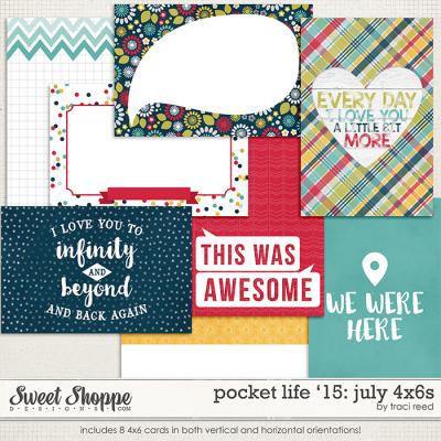 Pocket Life '15: July 4x6s by Traci Reed