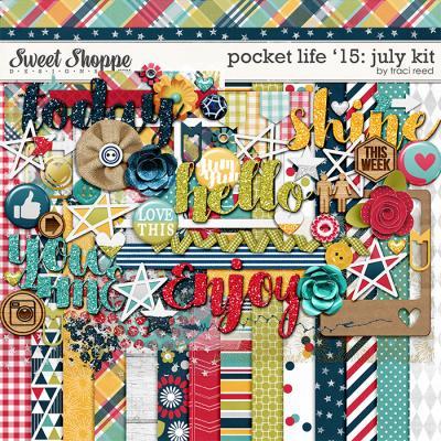 Pocket Life '15: July Kit by Traci Reed