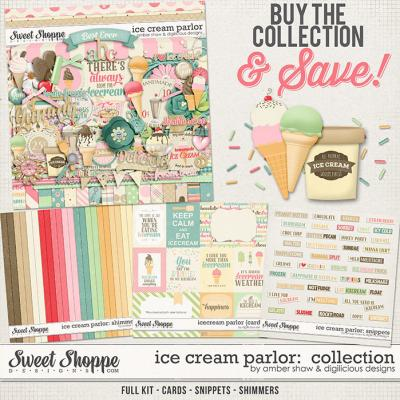 Icecream Parlor Bundle by Amber Shaw & Digilicious Design