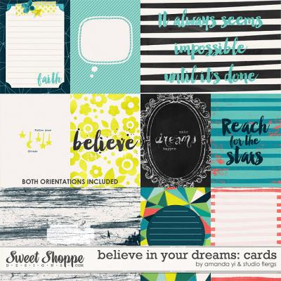 Believe In Your Dreams: Cards by Amanda Yi & Studio Flergs