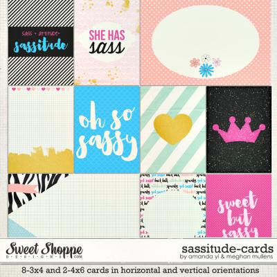 Sassitude: Cards by Amanda Yi & Meghan Mullens
