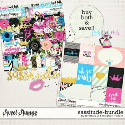 Sassitude: Bundle by Amanda Yi & Meghan Mullens