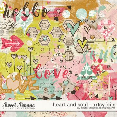 Heart And Soul | Artsy Bits by Digital Scrapbook Ingredients
