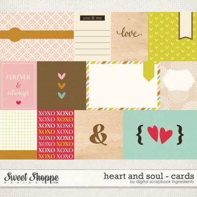Heart And Soul | Journal Cards by Digital Scrapbook Ingredients