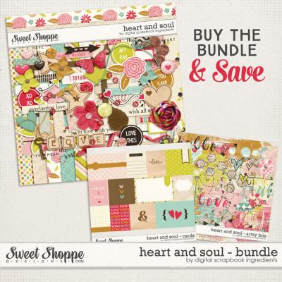 Heart And Soul Bundle by Digital Scrapbook Ingredients