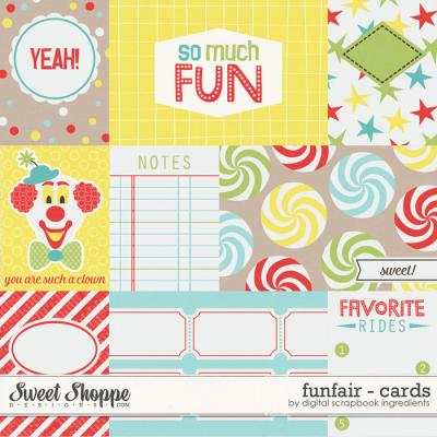 Funfair | Journal Cards by Digital Scrapbook Ingredients