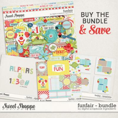 Funfair Bundle by Digital Scrapbook Ingredients