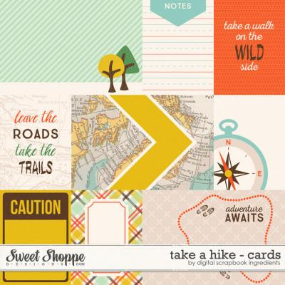 Take A Hike | Journal Cards by Digital Scrapbook Ingredients