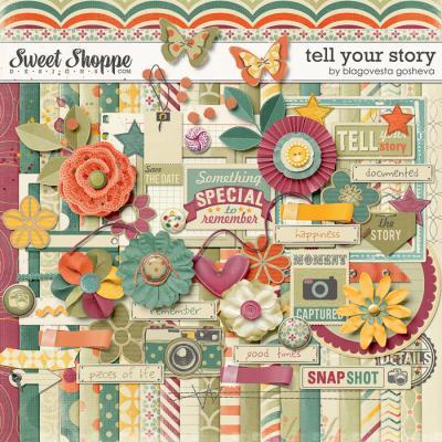 Tell your story by Blagovesta Gosheva