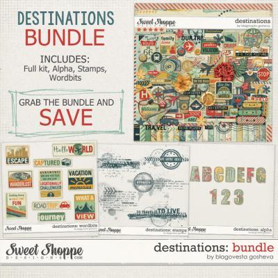 Destinations: Bundle by Blagovesta Gosheva