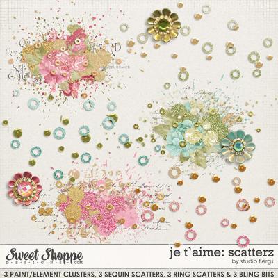 je t`aime: SCATTERZ by Studio Flergs