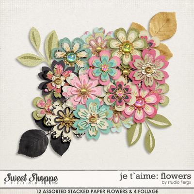 je t`aime: FLOWERS by Studio Flergs
