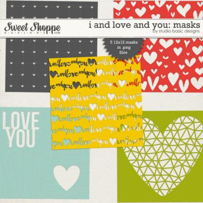 I And Love And You: Masks by Studio Basic