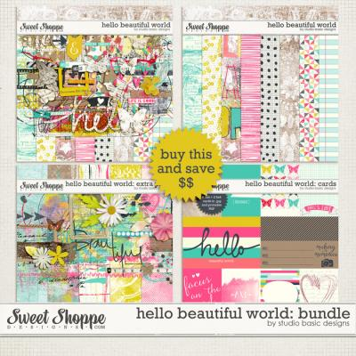 Hello Beautiful World: Bundle by Studio Basic