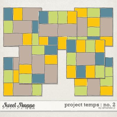 Project Temps : No. 2 by Amanda Yi