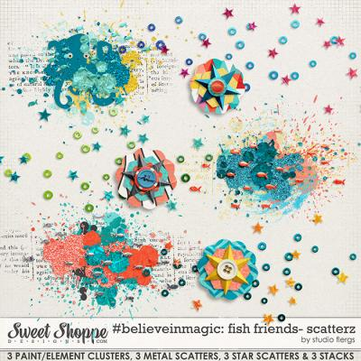 #believeinmagic fish friends: SCATTERZ by Studio Flergs