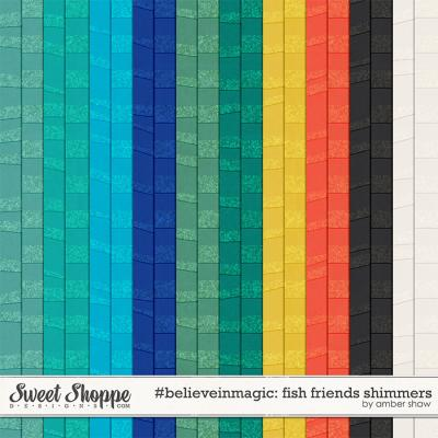 #believeinmagic: Fish Friends Shimmers by Amber Shaw