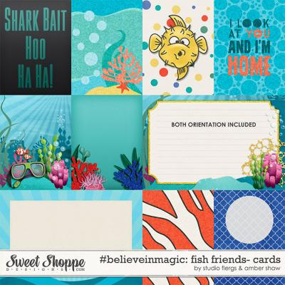 #believeinmagic: Fish Friends Cards by Amber Shaw & Studio Flergs
