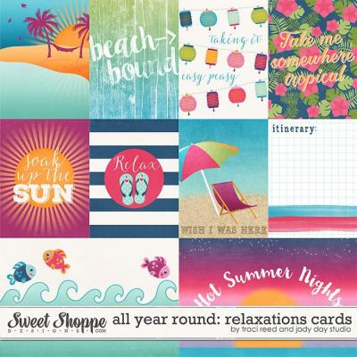 All Year Round: Relaxations Cards by Traci Reed & Jady Day Studio
