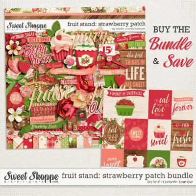 Fruit Stand: Strawberry Patch Bundle by Kristin Cronin-Barrow