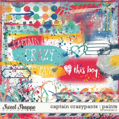 Captain Crazypants : Paints by Amanda Yi