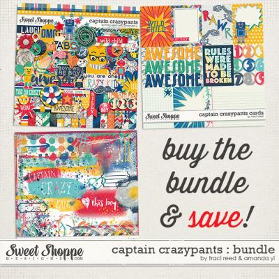 Captain Crazypants : Bundle by Traci Reed & Amanda Yi