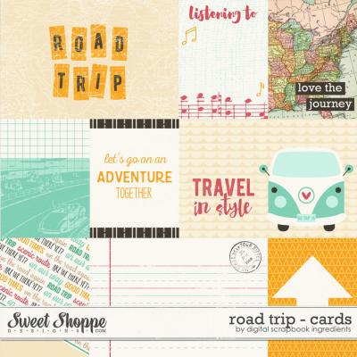 Road Trip | Journal Cards by Digital Scrapbook Ingredients