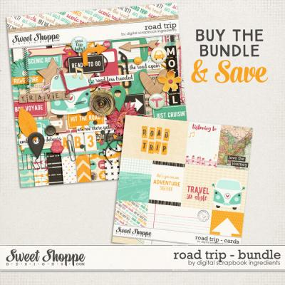 Road Trip Bundle by Digital Scrapbook Ingredients