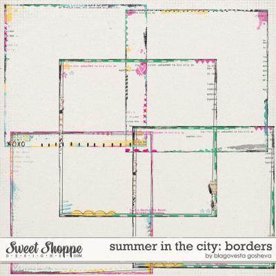 Summer in the city: borders by Blagovesta Gosheva