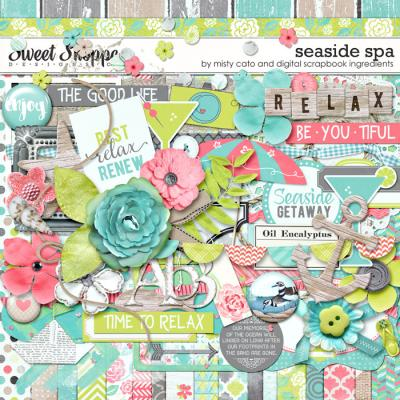 Seaside Spa by Misty Cato & Digital Scrapbook Ingredients
