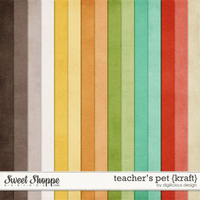 Teacher's Pet Kraft by Digilicious Design
