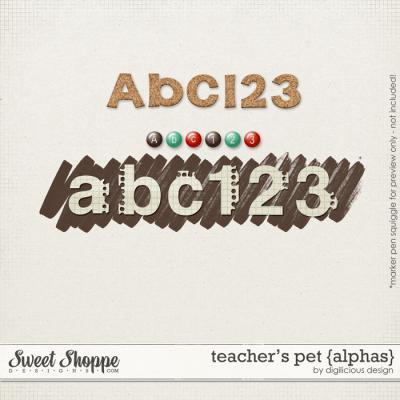 Teacher's Pet Alphas by Digilicious Design