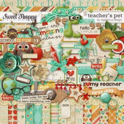 Teacher's Pet Kit by Digilicious Design