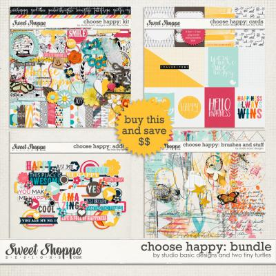 Choose Happy: Bundle by Studio Basic and Two Tiny Turtles