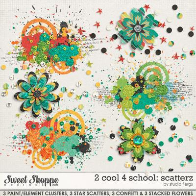 2 cool 4 school: SCATTERZ by Studio Flergs