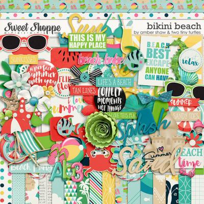 Bikini Beach by Amber Shaw & Two Tiny Turtles
