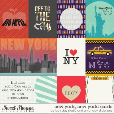 New York, New York : Cards by Jady Day Studio & Amanda Yi